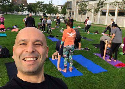 Corporate yoga 8